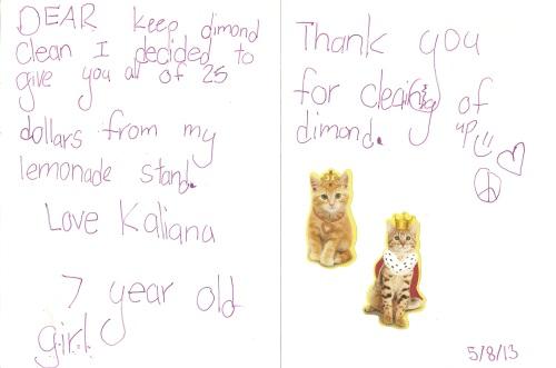 Kaliana Letter