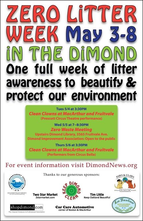 Zero Litter Week Poster