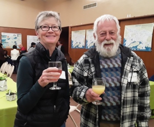 Cheers from KDC Volunteers Marysue and Noel